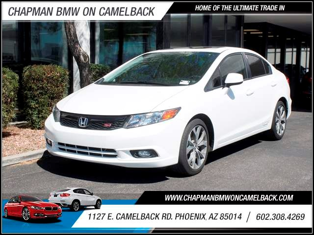2012 Honda Civic Si 22924 miles 602 385-2286 1127 E Camelback HOME OF THE ULTIMATE TRADE IN