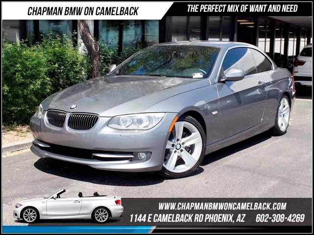 2011 BMW 3-Series Conv 328i PremSportValu Pkg Nav 42697 miles 1144 E CamelbackMarch Madness