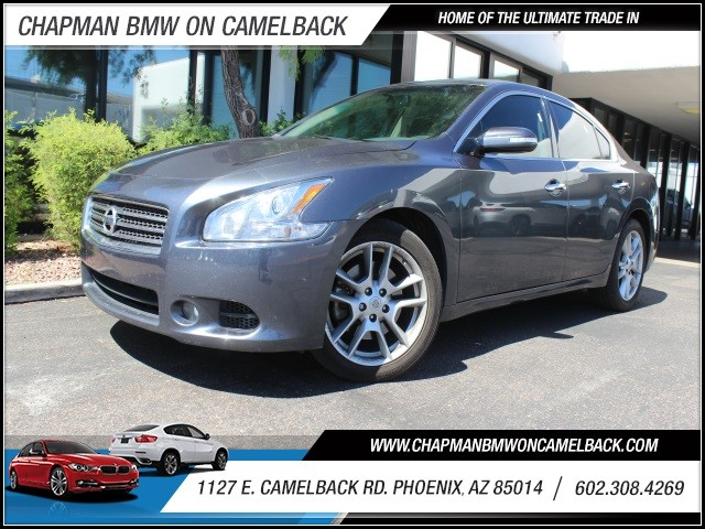 2011 Nissan Maxima 35 SV 68538 miles 1127 E Camelback BUY WITH CONFIDENCE Chapman BMW i