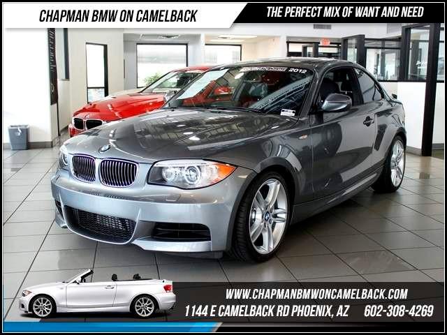 2012 BMW 1-Series 135i Mpt Prem Nav HK sound 0 miles 1144 E CamelbackChapman BMW on Camelback i