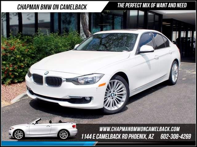 2012 BMW 3-Series Sdn 328i NAV Prem Pkg Lux Line 38597 miles 1144 E CamelbackCPO Spring Sales