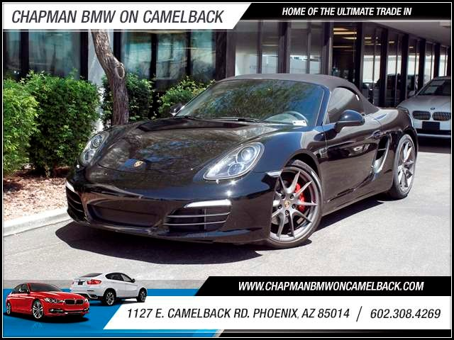 2013 Porsche Boxster S 8000 miles 602 385-2286 1127 E Camelback HOME OF THE ULTIMATE TRADE I
