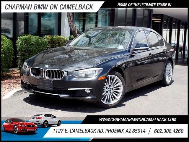 2012 BMW 3-Series Sdn 328i NAV Lux line PremTech Pkg 39863 miles 602 385-2286 1127 E Camelbac