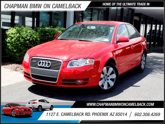 2007 Audi A4 20T quattro 42804 miles 602 385-2286 1127 E Camelback HOME OF THE ULTIMATE TRA