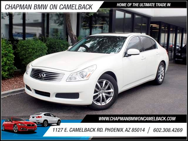 2007 Infiniti G35 Journey 91575 miles 602 385-2286 1127 E Camelback HOME OF THE ULTIMATE TRA