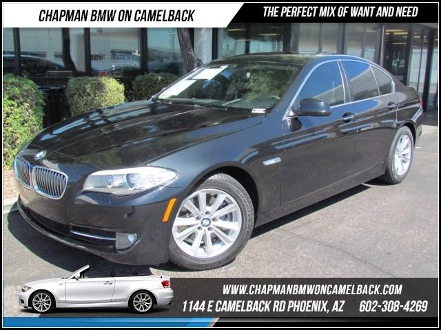 2013 BMW 5-Series 528i Prem Pkg Nav 46503 miles 1144 E Camelback Rd Brand Spankin NewishJu