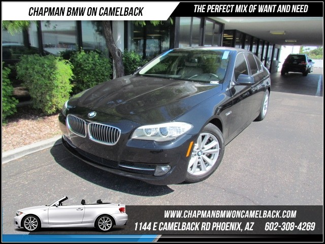 2013 BMW 5-Series 528i 37989 miles Hands-free communication system Wireless data link Bluetooth