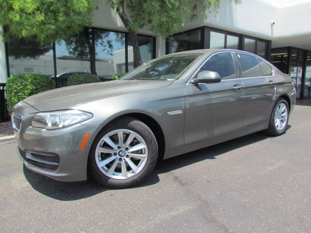 2014 BMW 5-Series 528i 12640 miles 1127 E Camelback BUY WITH CONFIDENCE Chapman BMW is l