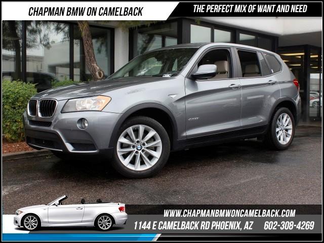 2013 BMW X3 xDrive28i 63750 miles 1144 E Camelback RdChapman BMW on Camelbacks Certified Pre Ow