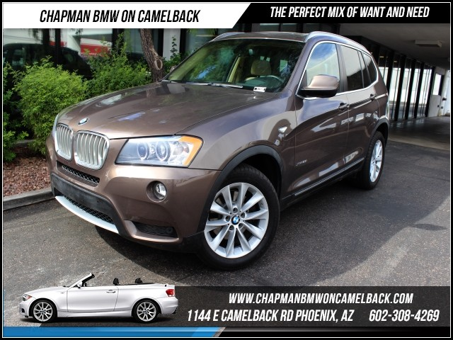 2011 BMW X3 xDrive28i 36686 miles Phone pre-wired for phone Cruise control Anti-theft system a