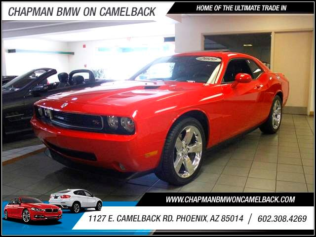 2010 Dodge Challenger RT 30385 miles 602 385-2286 1127 E Camelback HOME OF THE ULTIMATE TRA