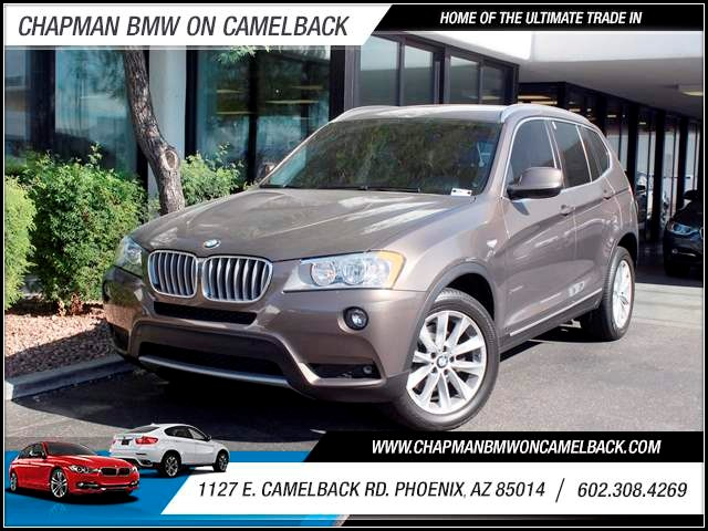 2011 BMW X3 xDrive28i 37287 miles 1144 E Camelback RdChapman BMW on Camelback in PHX has over 1