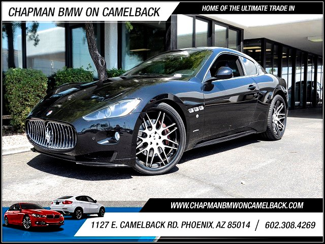 2012 Maserati GranTurismo S Automatic 21490 miles 602 385-2286 1127 E Camelback HOME OF THE
