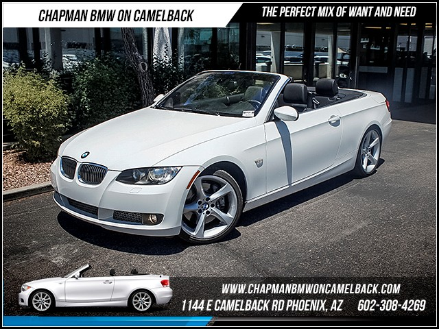2009 BMW 3-Series Conv 335i 53536 miles Premium Package Sport Package Cruise control Navigatio