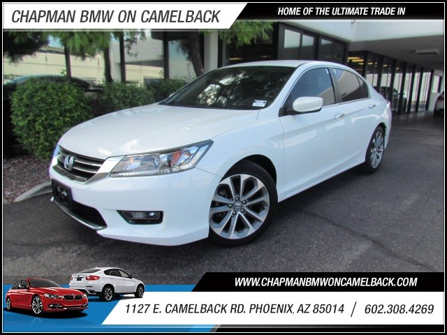 2014 Honda Accord Sport 13870 miles 602 385-2286 1127 E Camelback HOME OF THE ULTIMATE TRADE