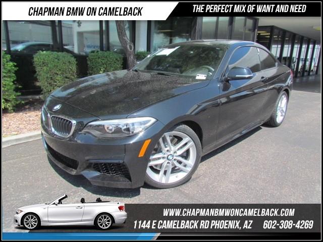 2014 BMW 2-Series 228i Mspt Pkg 7538 miles 1144 E Camelback Rd Brand Spankin Newish180 Cer