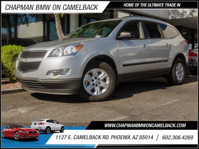 2012 Chevrolet Traverse LS 40587 miles 1127 E Camelback BUY WITH CONFIDENCE Chapman BMW