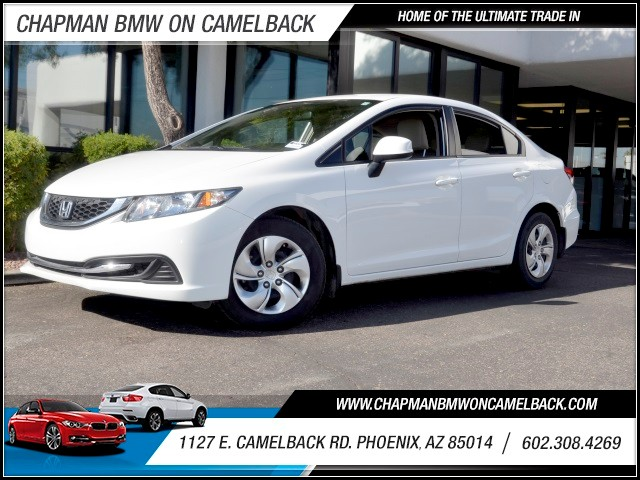 2013 Honda Civic LX 58979 miles Phone pre-wired for phone Wireless data link Bluetooth Electron