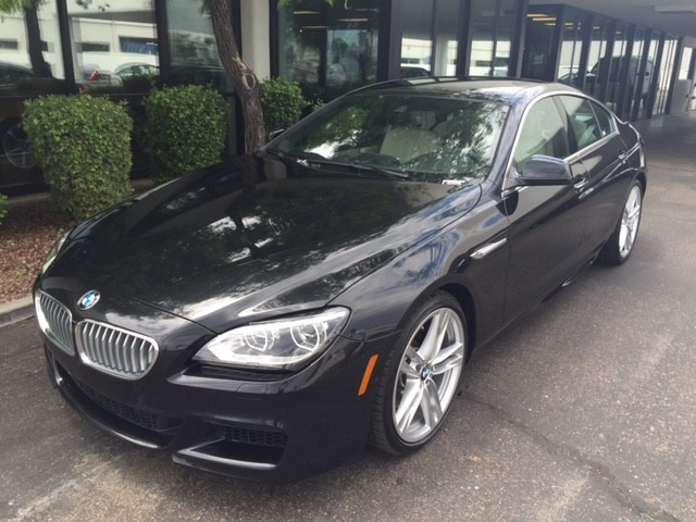 2013 BMW 6-Series 650i Gran Coupe 20213 miles 1127 E Camelback BUY WITH CONFIDENCE Chapm