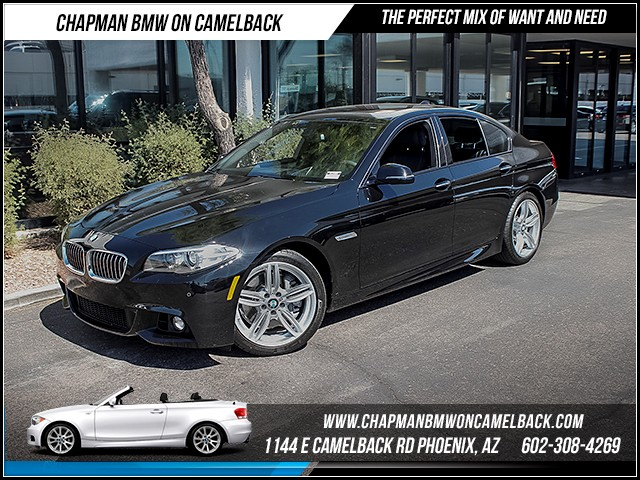2015 BMW 5-Series 535i 6839 miles M Sport Driver Assistance Package Premium Package Heated fro
