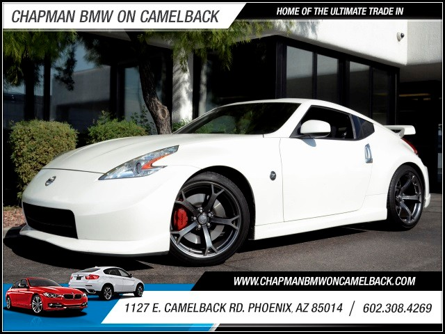 2013 Nissan 370Z NISMO 22259 miles 1127 E Camelback BUY WITH CONFIDENCE Chapman BMW is l