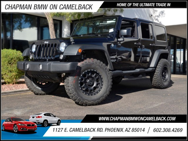 2015 Jeep Wrangler Unlimited Sport 18962 miles 1127 E Camelback BUY WITH CONFIDENCE Chap