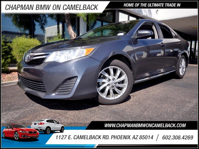 2012 Toyota Camry LE 72302 miles 1127 E Camelback BUY WITH CONFIDENCE Chapman BMW is loc