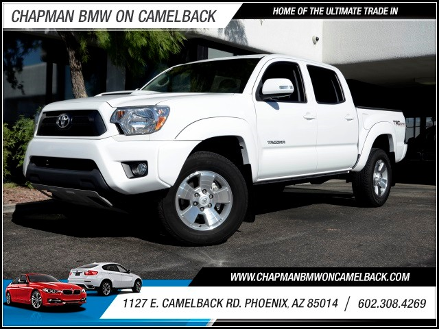 2014 Toyota Tacoma Crew Cab 37788 miles 1127 E Camelback BUY WITH CONFIDENCE Chapman BMW