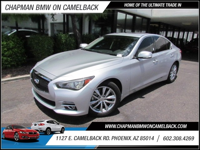 2014 Infiniti Q50 Premium 32213 miles 1127 E Camelback BUY WITH CONFIDENCE Chapman BMW i