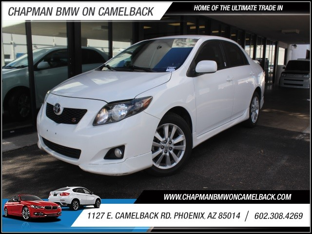 2009 Toyota Corolla S 99149 miles 1127 E Camelback BUY WITH CONFIDENCE Chapman BMW is lo