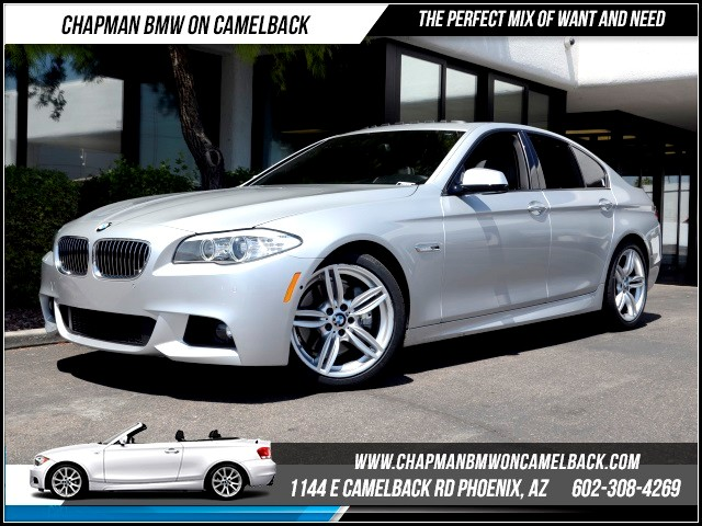 2013 BMW 5-Series 535i 22589 miles M Sport Package Technology Package Premium Package Driver A
