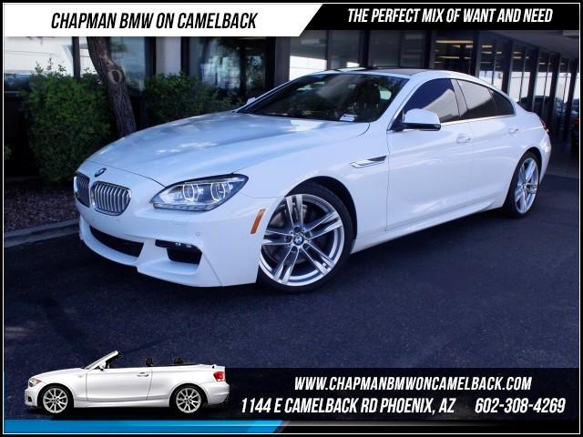 2013 BMW 6-Series 650i Gran Coupe MsptNavHUD 46412 miles 1144 E Camelback Rd October CPO Sale