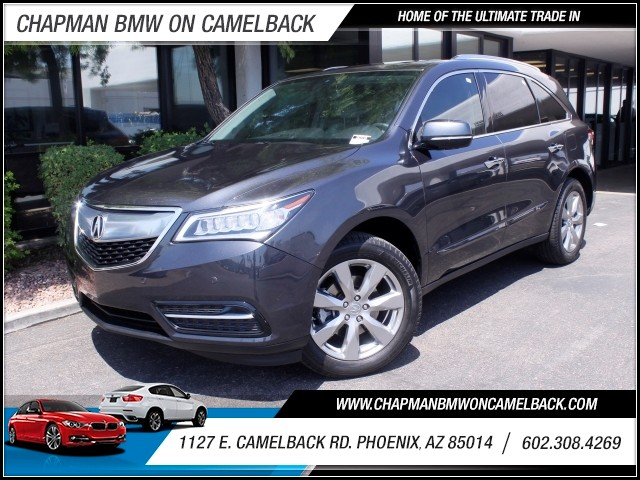 2014 Acura MDX SH-AWD wAdvance wRES 34121 miles 602 385-2286 1127 E Camelback HOME OF THE