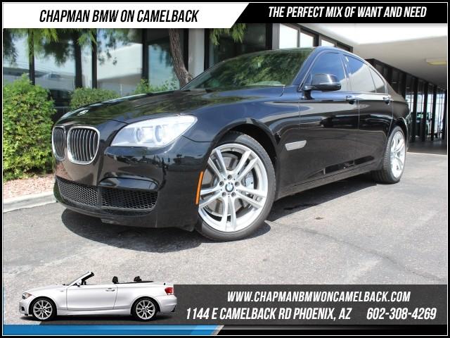 2013 BMW 7-Series 750i SportMspt Pkg 50192 miles 1144 E Camelback RdChapman BMW on Camelback i