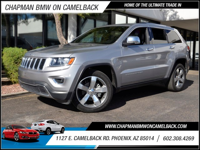 2014 Jeep Grand Cherokee Limited 28093 miles Wireless data link Bluetooth Hands-free communicati