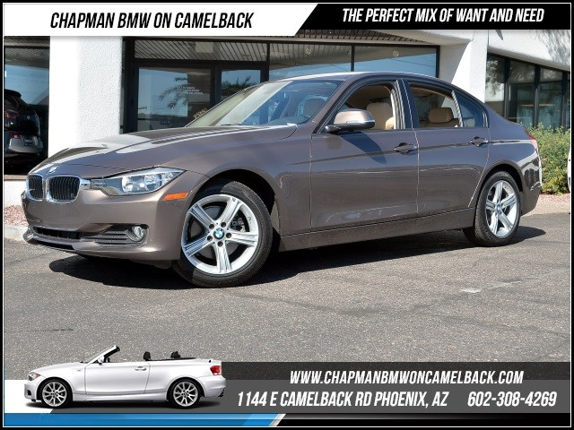 2015 BMW 3-Series Sdn 320i 9659 miles 1144 E Camelback RdChapman BMW on Camelbacks Certified Pr