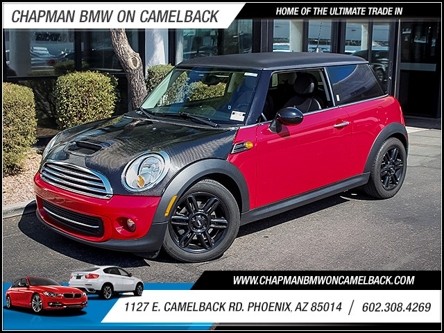 2012 MINI Cooper Hardtop 58687 miles Cruise control Anti-theft system audio security system Po