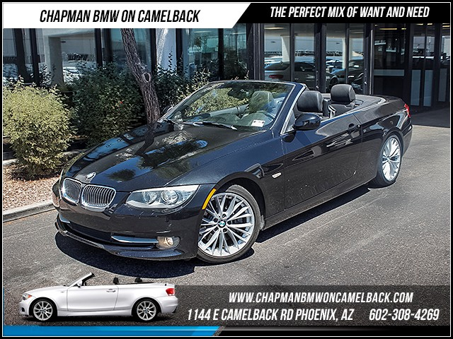 2011 BMW 3-Series Conv 335i 60878 miles Premium Package Sport Package Cruise control Navigatio