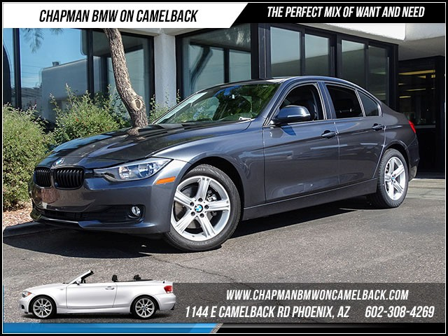 2015 BMW 3-Series Sdn 320i 11362 miles Satellite communications BMW Assist Enhanced USB and Blue
