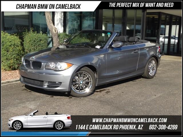 2011 BMW 1-Series 128i PremNav 56976 miles 1144 E Camelback RdChapman BMW on Camelbacks Certif
