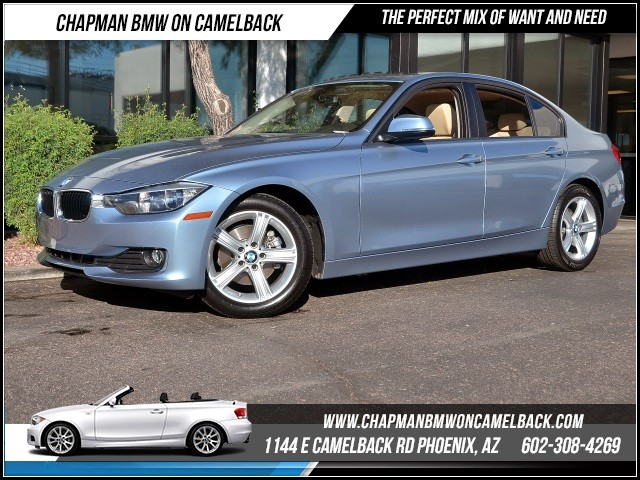 2015 BMW 3-Series Sdn 320i 8425 miles 1144 E Camelback RdChapman BMW on Camelbacks Certified Pr