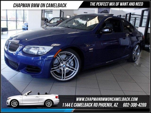 2011 BMW 3-Series Cpe 335is PremConvNavHtd Seats 33927 miles 1144 E Camelback Rd Brand Spa