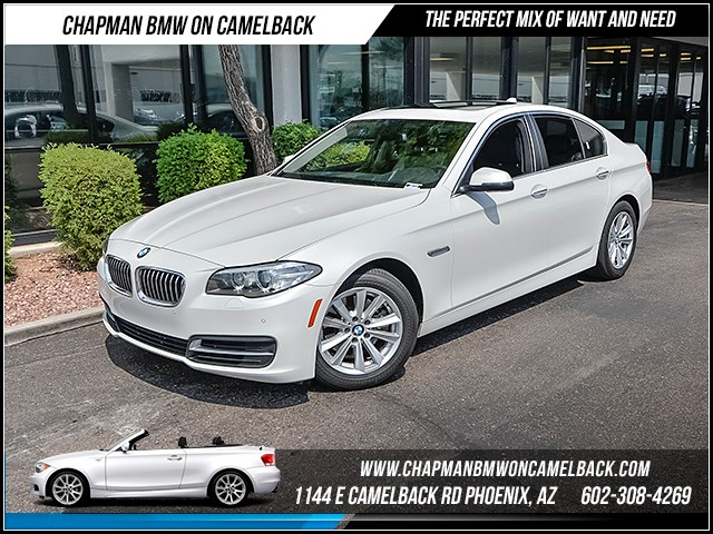 2014 BMW 5-Series 528i Driver Assist Nav 24162 miles 1144 E Camelback Rd 6023852286Drive f