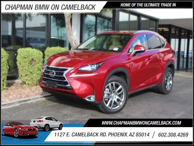 2015 Lexus NX 200t 2597 miles 1127 E Camelback BUY WITH CONFIDENCE Chapman BMW is locate