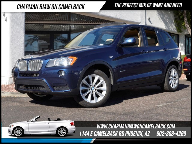 2014 BMW X3 xDrive28i 44593 miles Premium Package Satellite communications BMW Assist Hands-fre