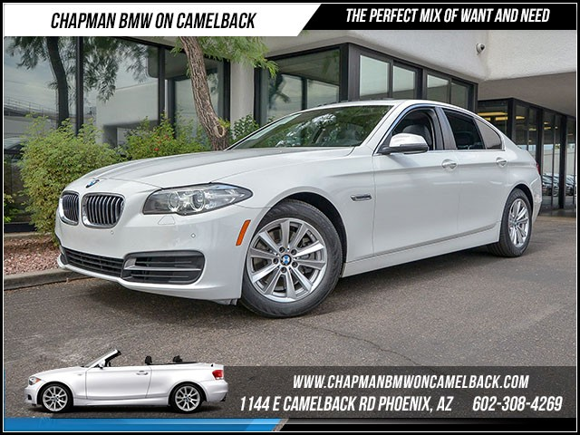 2014 BMW 5-Series 528i 25609 miles Driver Assistance Package Satellite communications BMW Assist