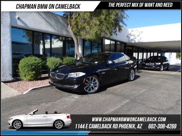 2012 BMW 5-Series 535i PremNavSport Pkg 48095 miles 1144 E Camelback RdChapman BMW on Camelba