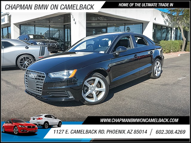 2015 Audi A3 18T Premium 23984 miles 6023852286 1127 E Camelback Rd Chapman Value center on