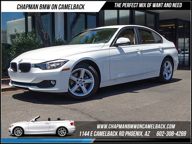 2015 BMW 3-Series Sdn 320i Nav 13313 miles 1144 E Camelback Rd 6023852286Drive for a cure