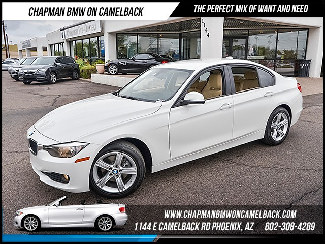 2014 BMW 3-Series Sdn 320i 27071 miles 1144 E Camelback Rd 6023852286 Certified Pre Owned